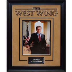 Martin Sheen The West Wing Signed Photo