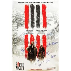 The Hateful Eight Signed Movie Poster