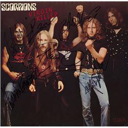 Scorpions Band Signed Virgin Killer Album