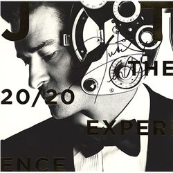 Justin Timberlake Signed 20/20 Experience Album