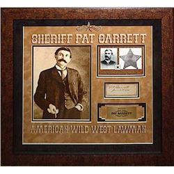 Pat Garrett signed Collage