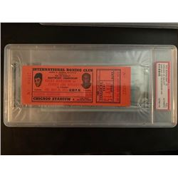 PSA/DNA Marciano v. Walcott 1953 Boxing Match Ticket