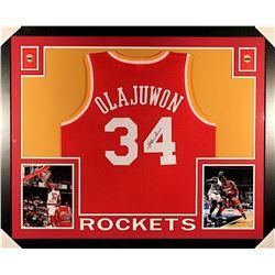 Hakeem Olajuwon Signed Rockets Jersey