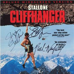 Cliffhanger Cast Signed Movie Laserdisc Album