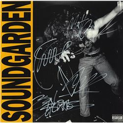 Soundgarden Band Signed Louder Than Love Album