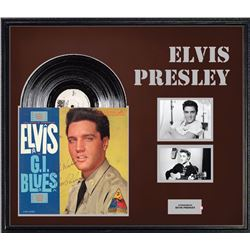 "Elvis Presley ""G.I Blues"" Signed Album"