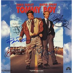 Tommy Boy Cast Signed Movie Laserdisc Album