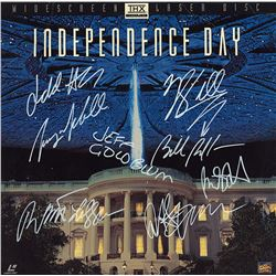 Independence Day Cast Signed Movie Laserdisc Album