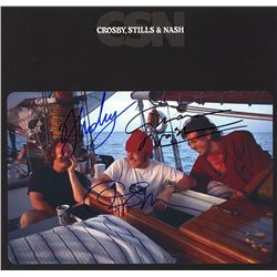 Crosby Stills & Nash Band Signed CSN Album