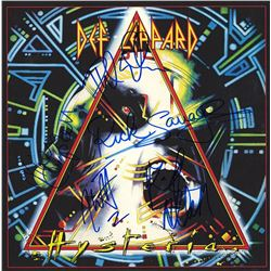 Def Leppard Band Signed Hysteria Album