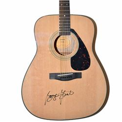 George Strait Signed Yamaha F335 Acoustic Guitar