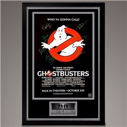 Ghostbusters Signed Movie Poster