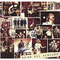 Cheap Trick Band Signed We're All Alright! Album