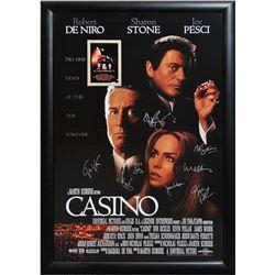 Casino Cast Signed Movie Poster