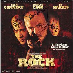 The Rock Cast Signed Movie Laserdisc Album