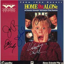 Home Alone Cast Signed Movie Laserdisc Album