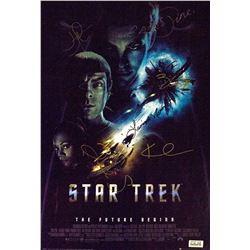 Star Trek The Future Begins – Signed Movie Poster