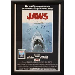 Jaws Signed Movie Poster