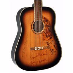 The Beatles Band Signed Darkened Sunburst 1950 – 1960's Hofner 12 String Vintage Guitar
