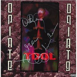 Tool Band Signed Opiate Album