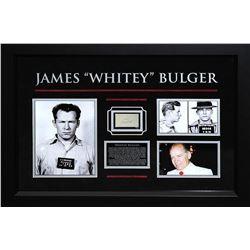"James ""Whitey"" Bulger Framed Signature Collage"