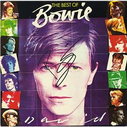 David Bowie Signed The Best Of Bowie Album