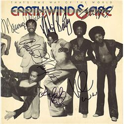 Earth Wind & Fire Band Signed That's The Way Of The World Album
