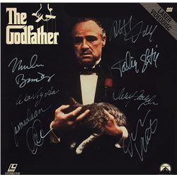 The Godfather Cast Signed Movie Laserdisc Album