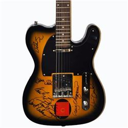 Jefferson Starship Band Signed Telecaster Styled Guitar