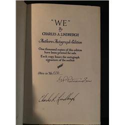 PSA/DNA Lindbergh Signed Limited Edition We Book