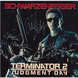 Terminator 2 Judgment Day Cast Signed Movie Laserdisc Album