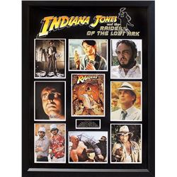 """Indiana Jones """"Raiders of the Lost Ark"""" Cast Signed Collage"""
