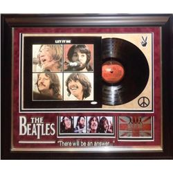 """The Beatles """"Let It Be"""" Signed Album"""