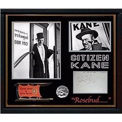 Orson Welles Citizen Kane Signed Collage