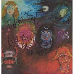 King Crimson Band Signed In The Wake Of Poseidon Album