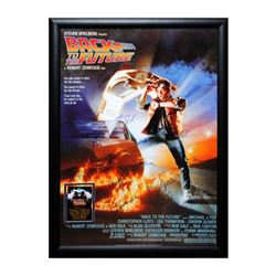 Back To The Future Signed Movie Poster