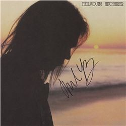 Neil Young Signed Hitchhiker Album