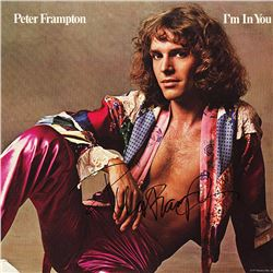Peter Frampton Signed I'm In You Album