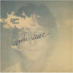 "John Lennon Signed ""Imagine"" Album"
