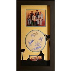 Eagles Signed and Framed Drumhead