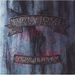 "Bon Jovi Band Signed ""New Jersey"" Album"