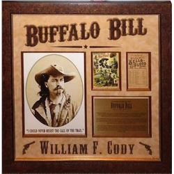 Buffalo Bill signed Collage