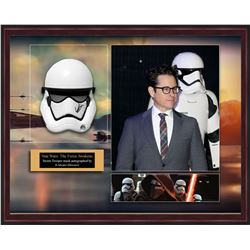 Star Wars Framed Signed Helmet