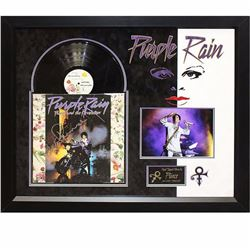 "Prince Signed ""Purple Rain"" Album"