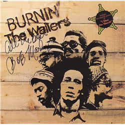 Bob Marley Signed Burnin' Album