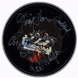 Judas Priest Band Signed 12 Inch (30.5 cm) Drum Head