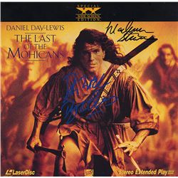 Last Of The Mohicans Cast Signed Movie Laserdisc Album