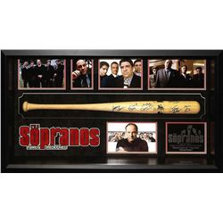 Sopranos Cast Signed Baseball Bat