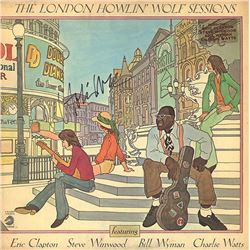 Howlin' Wolf Signed The London Howlin' Wolf Sessions Album