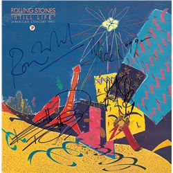 """The Rolling Stones Band Signed """"Still Life"""" Album"""